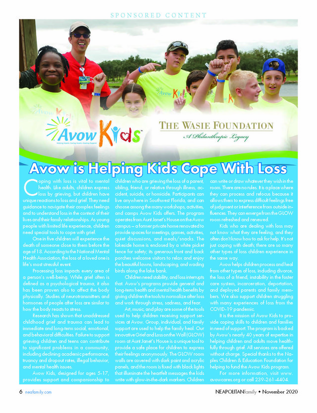 Avow Kids Advertorial
