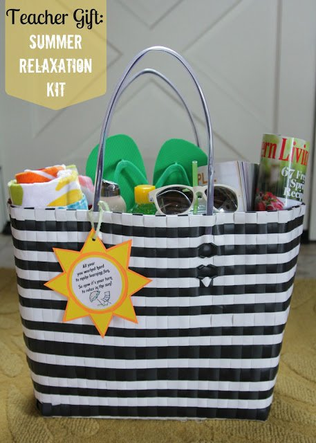 summer teacher tote