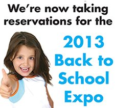 Back to School Expo sign up