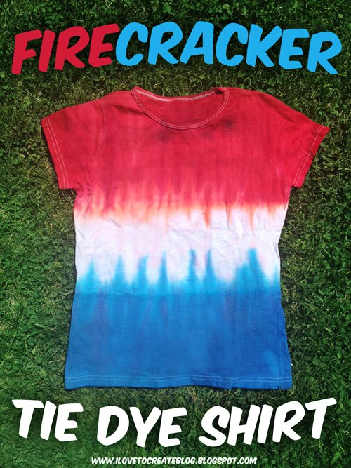firecracker tie dye t