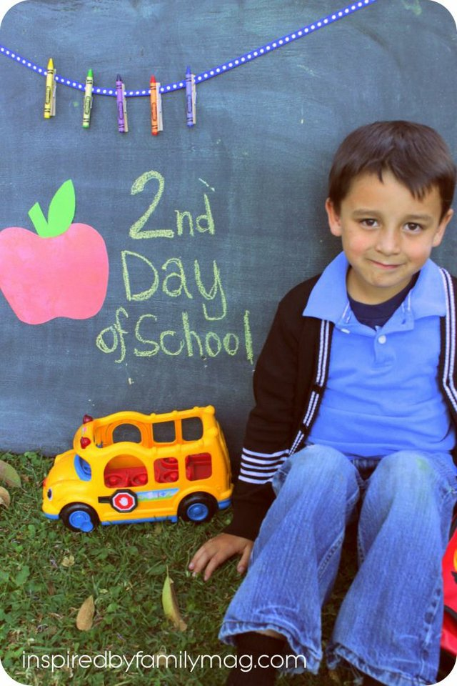 2nd day of school