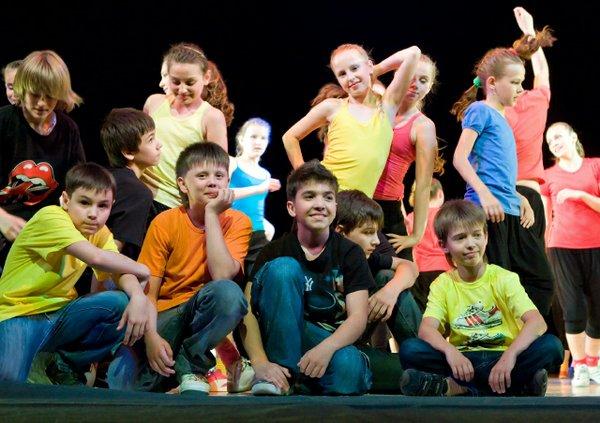 theatre children on stage