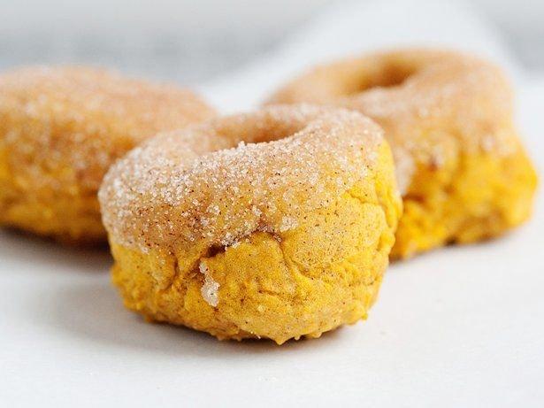 4. baked pumpkin doughnuts
