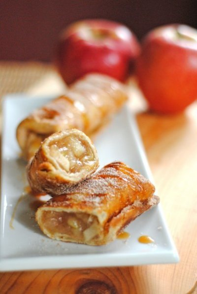 6. apple chimichangas