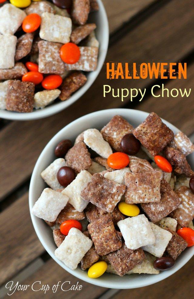 13. halloween puppy chow