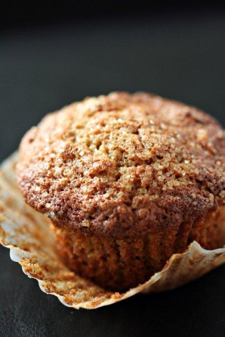 23. applesauce spice muffins