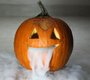 31. dry ice pumpkin