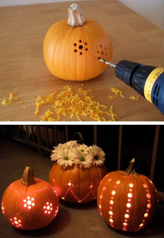 5 really cool pumpkin carving projects