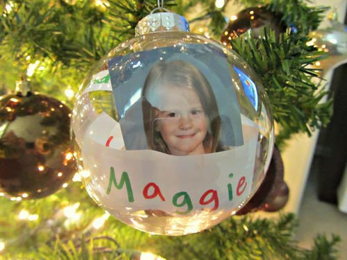 Time Capsule Tree Ornament