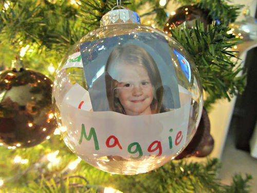 Time Capsule Tree Ornament