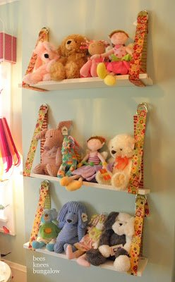 Belt Shelf For Stuffed Animals