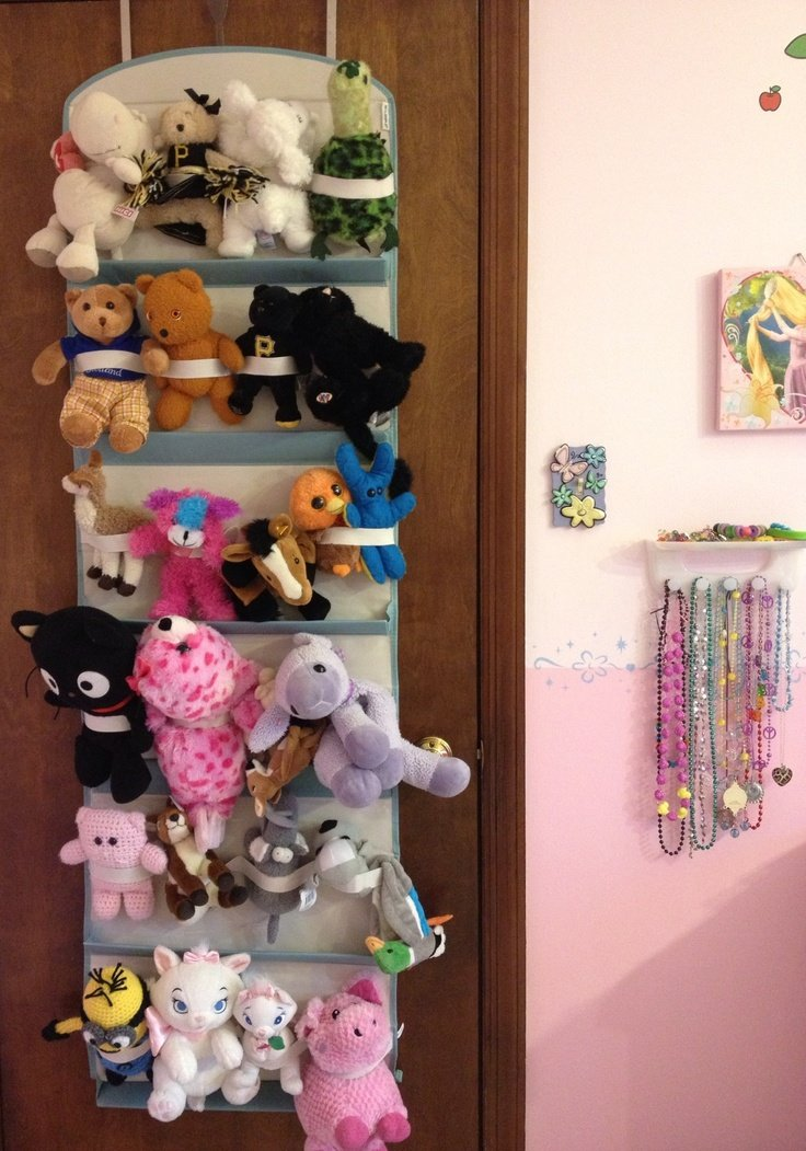 Diy Toy Holder : Stuffed animal storage neafamily