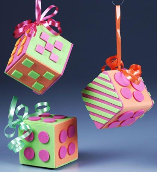 Mod Cubes Ornament