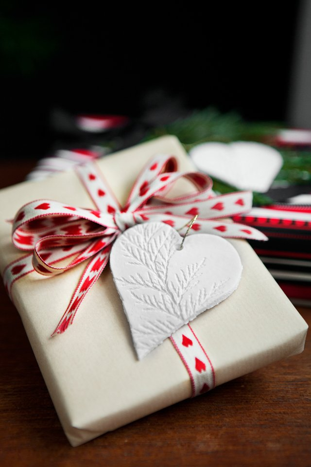 Handmade Ornament Wrapping