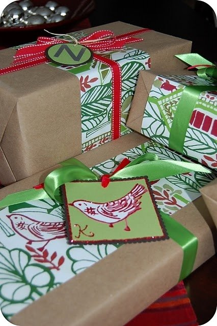 Craft Paper Wrapping