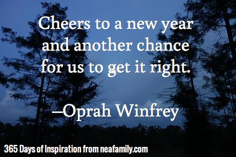 Cheers to a new year