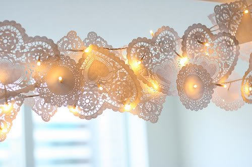 Valentine's Doily Light