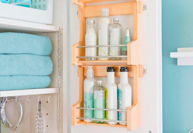 Spice Rack used on vanity door