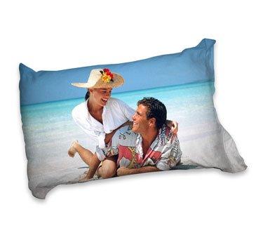 Pillow case with photos