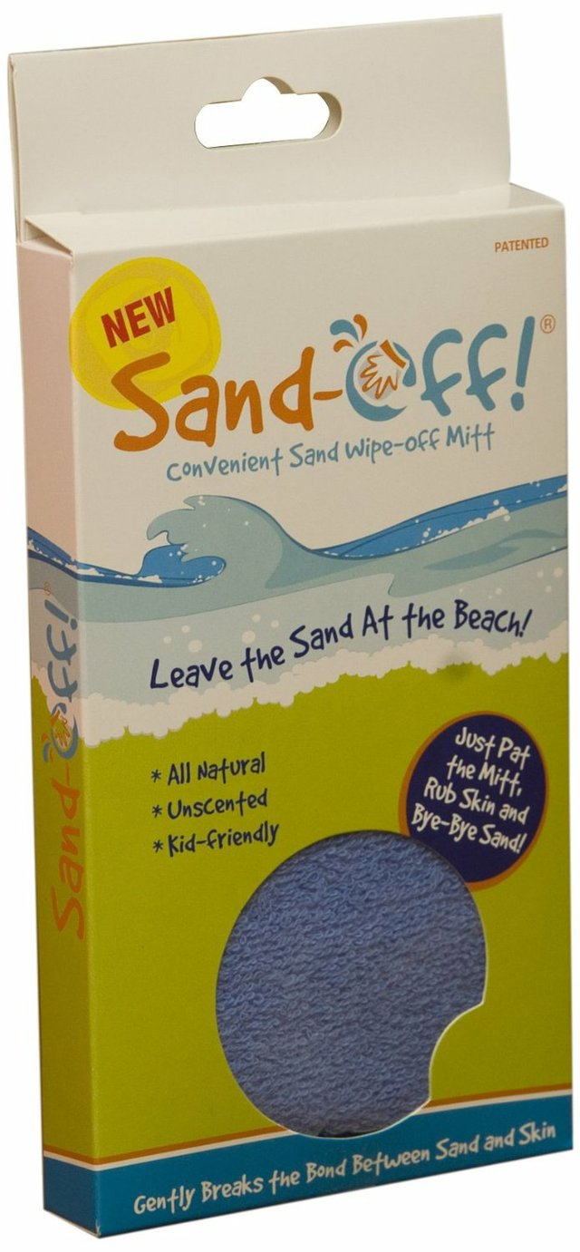 Sand Off Beach Mitt