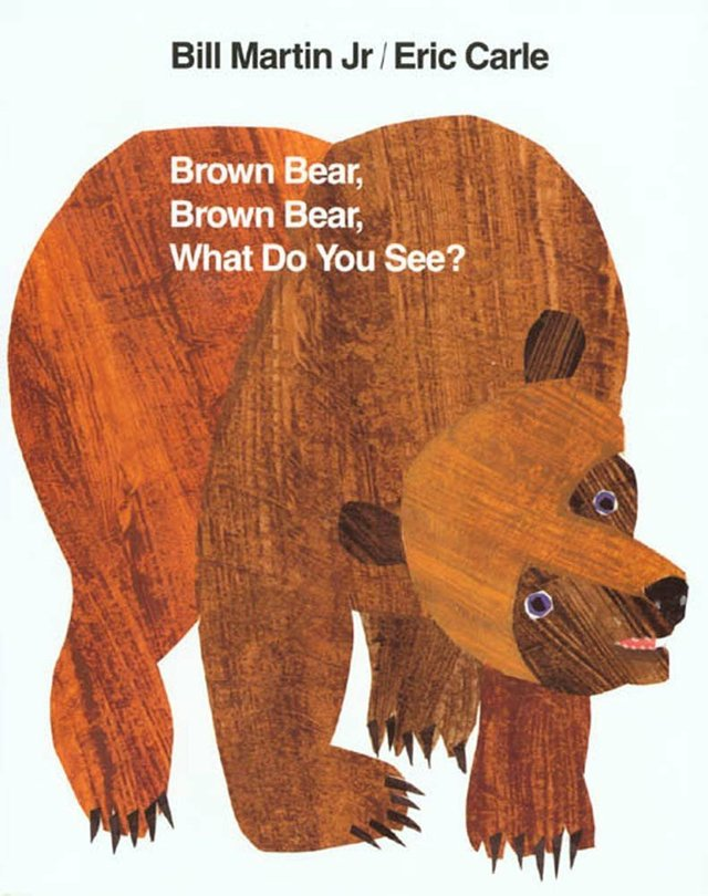 Brown bear book cover